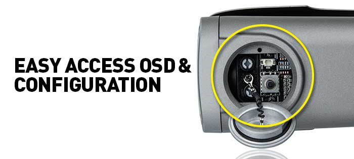 Easy Access OSD & Configuration